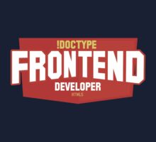 front end developer html5 T-Shirt