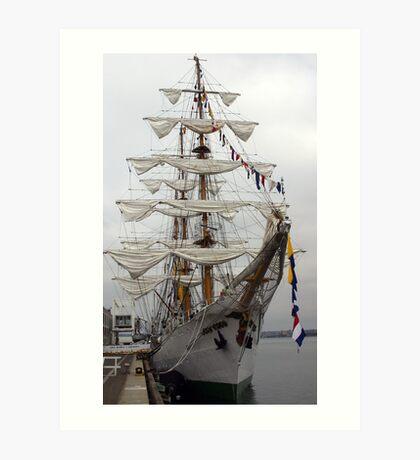 Barque Gloria Art Print