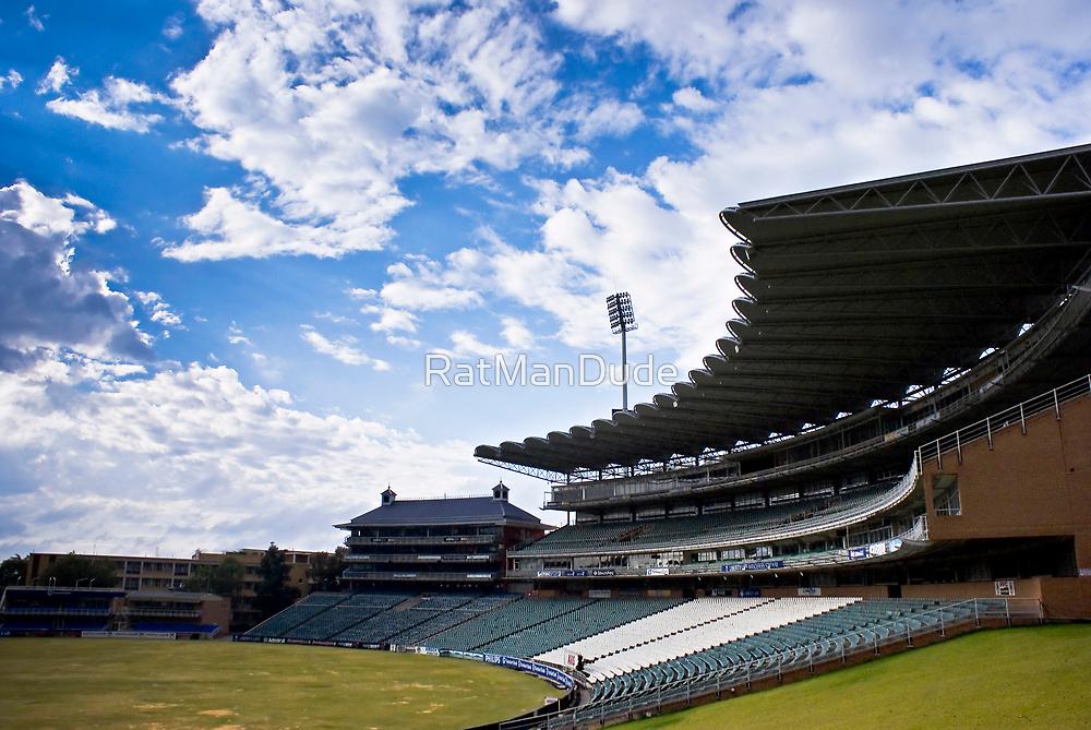 Wanderers Cricket Stadium by RatManDude