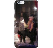 Christmas in (C)old Kampen city musicians performing iPhone Case/Skin