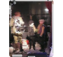 Christmas in (C)old Kampen city musicians performing iPad Case/Skin