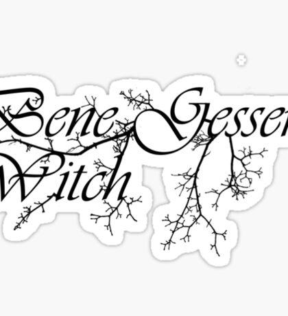 Bene Gesserit Witch Sticker