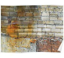 Rusty Bricks Poster