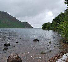 Ennerdale Water and Robin Hood's Chair. by Phil Mitchell