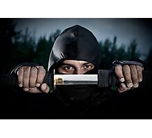 Ninja sword Photographic Print