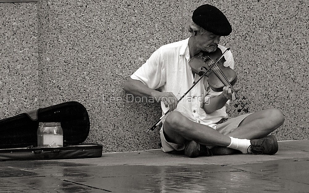 Cajun Fiddler by Lee Donavon Hardy