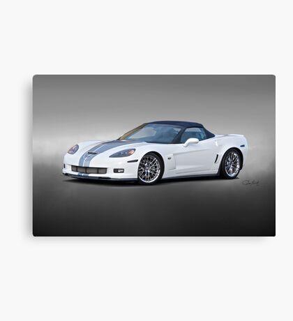 2014 Corvette ZO6 Convertible Canvas Print
