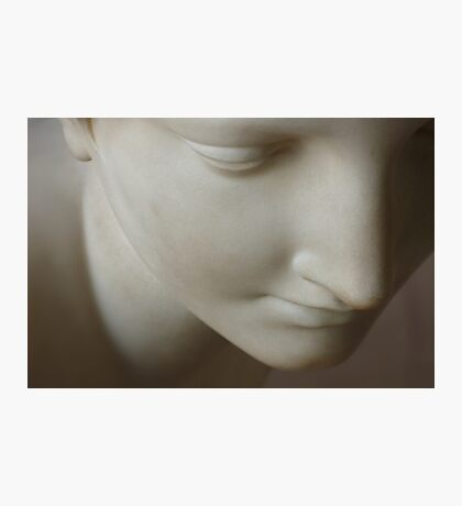 Marble Woman Face Photographic Print