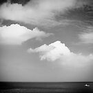 Big sky, small boat by clickinhistory