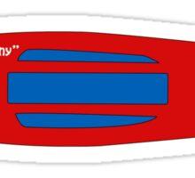 Sk8_Penny Red Sticker/Phone Case Sticker