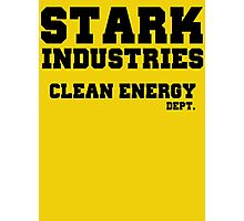 Stark Industries Clean Energy Dept. Photographic Print
