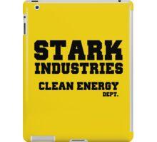 Stark Industries Clean Energy Dept. iPad Case/Skin