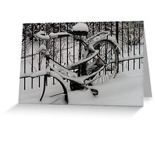 Discarded Greeting Card