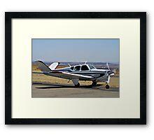 Beechcraft Bonanza V-Tail Framed Print