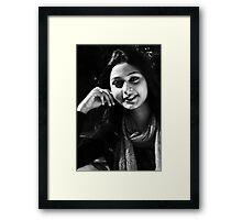 Portrait of Lady - I Framed Print