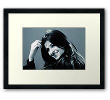 Portrait of Lady - III Framed Print