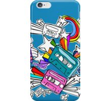 I'd Like to Spend The  Day Colouring with Crayons iPhone Case/Skin