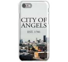 City of Angels Est.1781 iPhone Case/Skin