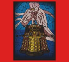 Dalek Stained Glass Kids Clothes
