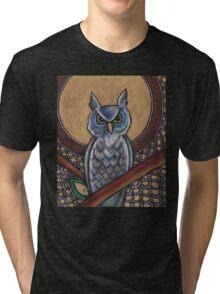 Night Owl Tee Tri-blend T-Shirt