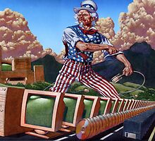 Uncle Sam's Information Highway... by Mike Cressy