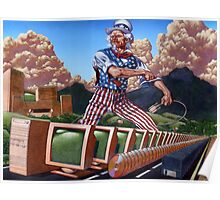 Uncle Sam's Information Highway... Poster