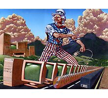 Uncle Sam's Information Highway... Photographic Print