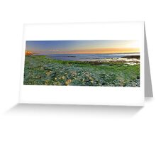North Beach Sunset  Greeting Card