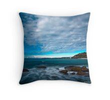 Converging - Turimetta, NSW Throw Pillow