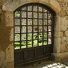 A garden behind the door by KERES Jasminka