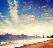 Golden Gate Bridge from Baker's Beach by AndreaBorden
