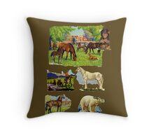 Animals Throw Pillow