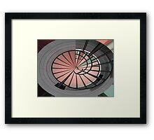 Stair Rails Framed Print