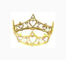 Queen of Hearts gold crown tiara by Kristie Hubler T-Shirt