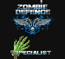 Zombie Defence Specialist - Guns n Skulls Unisex T-Shirt