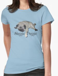 Sluggie Puggie Womens Fitted T-Shirt