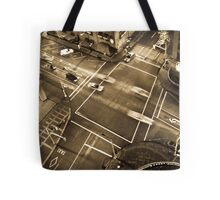 City intersection Tote Bag