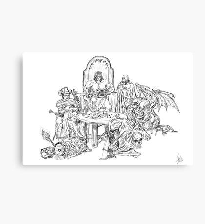 Dungeon World Canvas Print