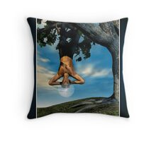 The Hanged Man Throw Pillow