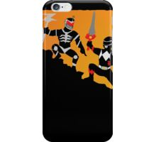 Fall of the Red Ranger  iPhone Case/Skin