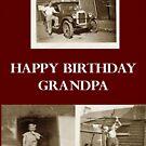 Large Print Happy Birthday Grandpa 'My favourite ERA' by bonnie88