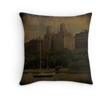 Old New York  Throw Pillow