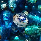 Litle Flower Lost (Blue) by Aileen David
