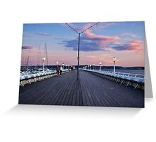 Torquay Pier Greeting Card