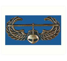 US Army Infantry - Airmobile Art Print
