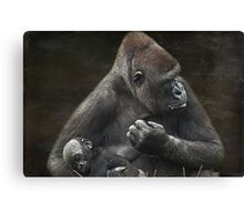 Into My Arms Canvas Print