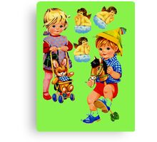 Toddlers Canvas Print