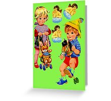 Toddlers Greeting Card