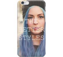 GEMMA IS THE BETTER STYLES iPhone Case/Skin