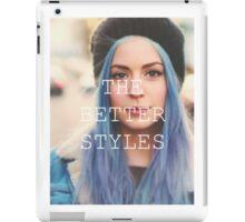 GEMMA IS THE BETTER STYLES iPad Case/Skin